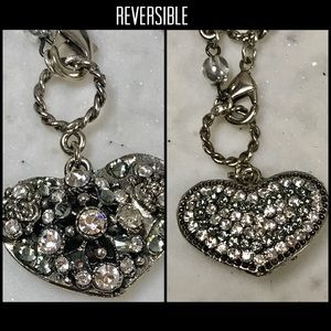 Vintage Finished Two Sided Heart ❤️Stunning!